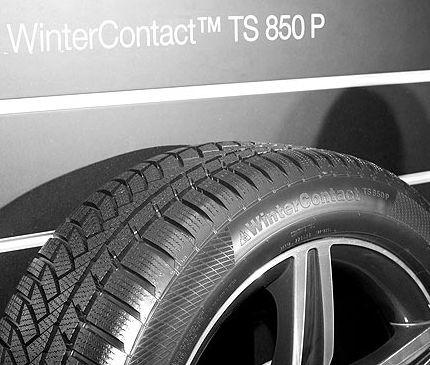 Continental ContiWinterContact TS850P 235/40R19 96V