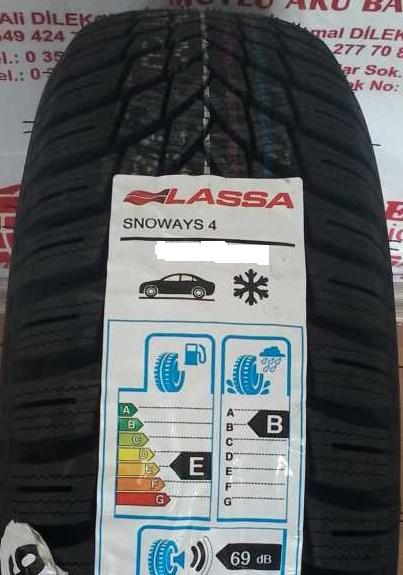 Lassa Snoways 4 195/60R15 88H