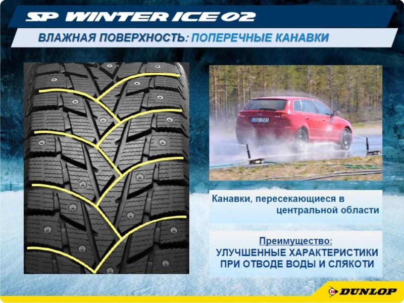 Dunlop Grandtrek Ice 02 215/65R16 102T